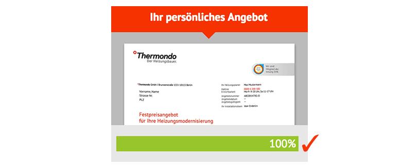 Angebot Thermondo